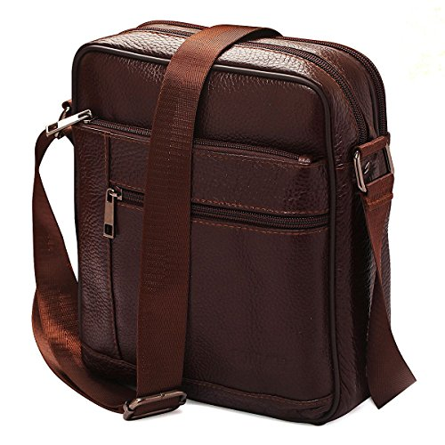 Small Genuine Leather Cross Body Messenger Bags Satchel Shoulder