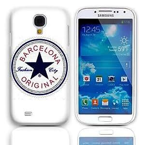 GDW Teléfono Móvil Samsung - Cobertor Posterior - Gráfico/Superficie de Cristal/Dibujos Animados - para Samsung S4 Mini I9190 ( Multi-color , Plástico )