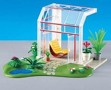 Glass Conservatory by Playmobil: Juguetes y juegos - Amazon.es