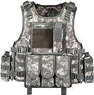 GZ XINXING Black Tactical Airsoft Paintball CS Vest