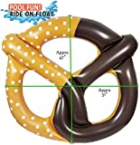 Greenco Giant Inflatable Pretzel Float