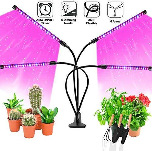 실내 식물을 위한 LED 성장 조명 JUEYINGBAILI 80W 풀 스펙트럼 플랜트 라이트 자동 켜기끄기 3912H 타이머 9 밝기 실내 다육 식물 성장 / 실내 식물을 위한 LED 성장 조명 JUEYINGBAILI 80W 풀 스펙트럼 플랜트 라이트 자동 켜기끄기 3912H 타이머 ...