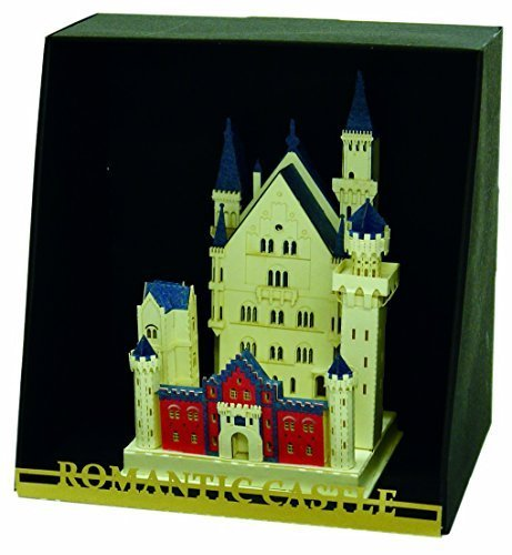 Nanoblock Paper Nano - Neuschwanstein Castle Model Kit, Model: 58603, Toys & Play