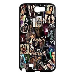 Printed Phone Case The Vampire Diaries For Samsung Galaxy Note 2 N7100 Q5A2112414