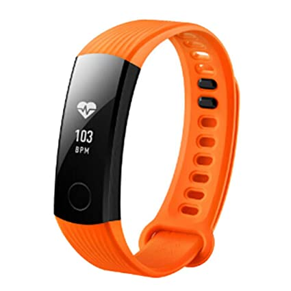 zolimx Deportes Silicona Pulsera Correa Banda para Huawei Honor 3 Smart Watch