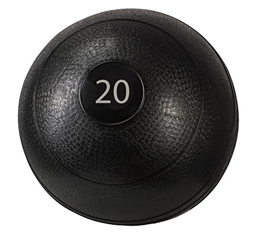 Triangle Sale Slam Ball Dead Weight – Easy-Grip Surface – Ultra-Durable Rubber Shell Great for Exercise Weight Crossfit Workout, Strength & Squats, Lunges, Cardio, Wall Exercises (10, 15, 20 lbs) Review