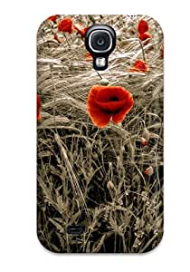 Design High Quality Flower Cover Case With Excellent Style For Galaxy S4