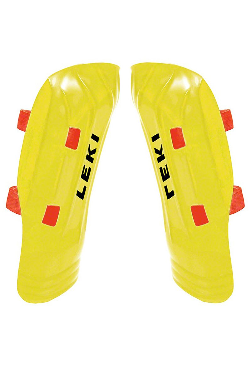 Leki World Cup Pro Junior Shin Guards 2015 Wc Pro Jr Shin Guard 15 by Leki