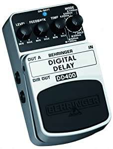 behringer dd400 guitar delay effect pedal musical instruments stage studio. Black Bedroom Furniture Sets. Home Design Ideas