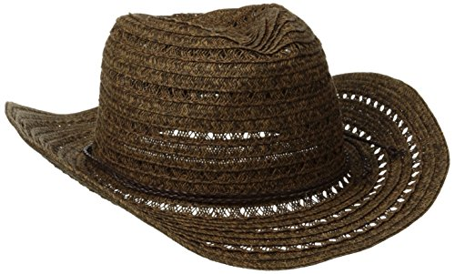 san-diego-hat-company-womens-open-weave-cowboy-hat-with-braided-trim-mixed-black-one-size