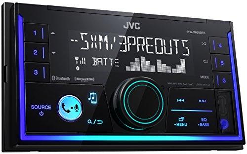 JVC 2-DIN Digital Media Receiver (KW-X830BTS)