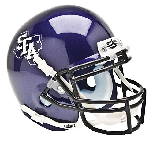 Schutt NCAA Mini Authentic XP Football Helmet, Stephen F. Austin Lumberjacks