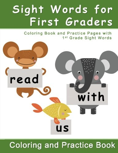 Amazon.com: Sight Words for First Graders - Coloring Book and ...