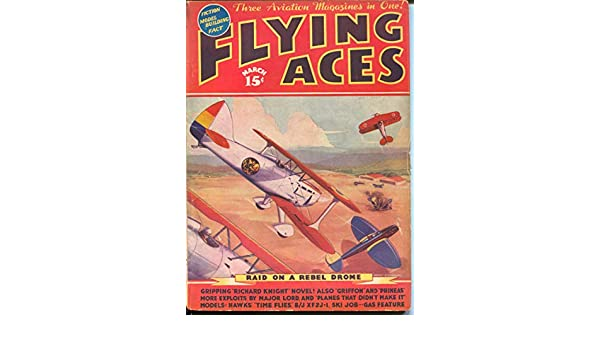 Flying Ace 3/1937-hero pulp-Kerry Keen-Al McWilliams-Dick Knight-VG at Amazons Entertainment Collectibles Store