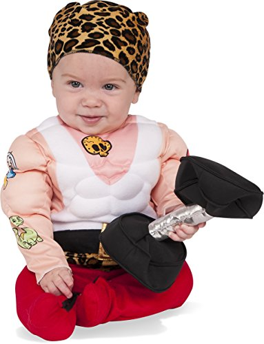Make A Circus Costume (Rubie's Costume Co. Baby Muscleman Costume, As Shown, Infant)