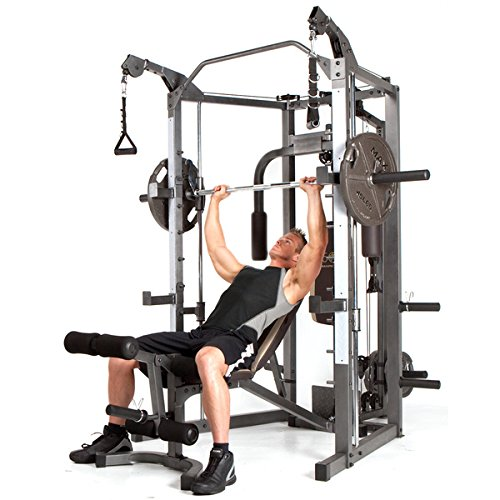 Marcy Home Gym Smith Cage and Cable Crossover(SM 4008)