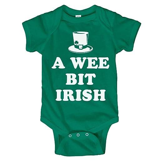 618609c16 Amazon.com  Customized Girl Wee Bit Irish Cute Baby Onesies  Infant ...