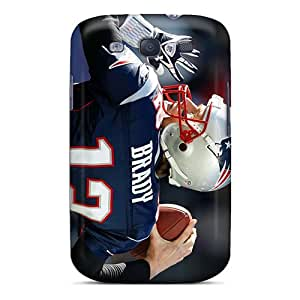 First-class Case Cover For Galaxy S3 Dual Protection Cover New England Patriots