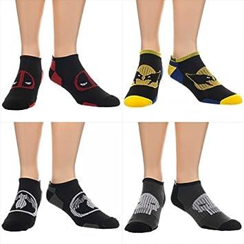 Tobillo calcetines - Marvel Comics - wolveine Venom, diseño de Masacre de el Castigador Set asmvlperform: Amazon.es: Juguetes y juegos