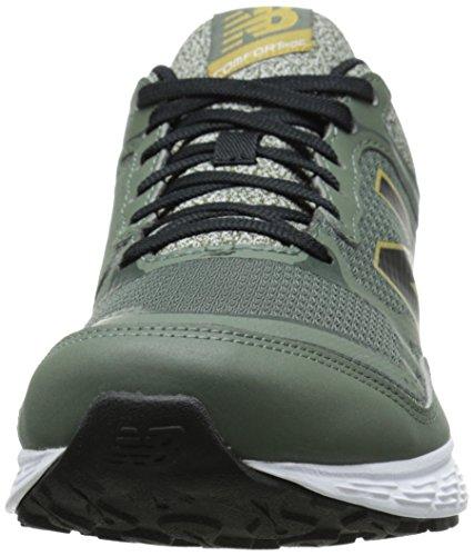 New Balance Mens M520V2 Running Shoe Dark Green