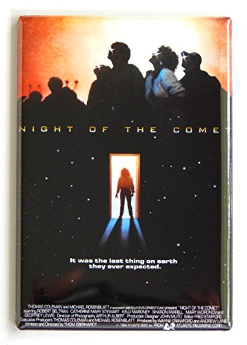 Night of the Comet Movie Poster Fridge Magnet (2.5 x 3.5 (Halloween Comet Size)
