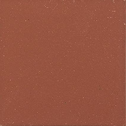 6X6 COLONIAL RED SMOOTH QUARRY FIELD TILE 44 Tile Per Box 202ea