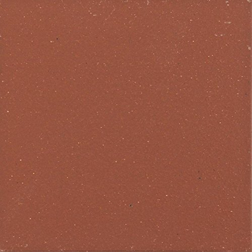6X6 COLONIAL RED SMOOTH QUARRY FIELD TILE 44 tile per box / $2.02ea by Alfagres