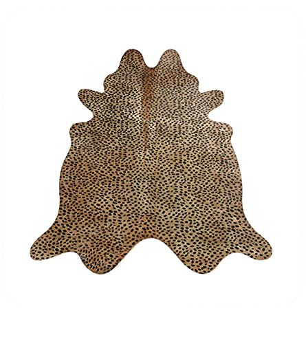 Cowhide Imports Cheetah on Caramel Cowhide Rug - Leopard Cowhide
