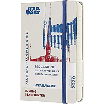 Amazon.com : Moleskine 2016 Star Wars Limited Edition Daily ...