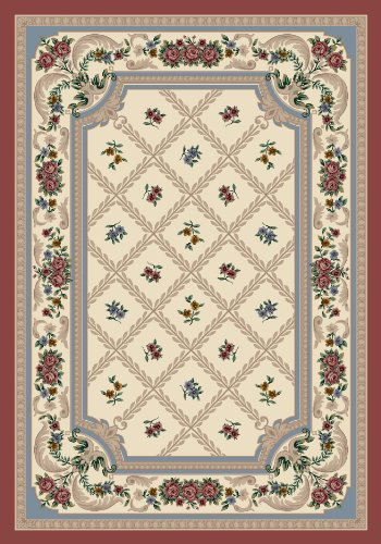 Quartz Rose Milliken Rose (Milliken Signature Collection Vanderbilt Runner Area Rug, 2'1