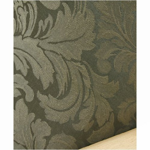 Damask Olive Futon Cover Full 5pc Pillow set 584