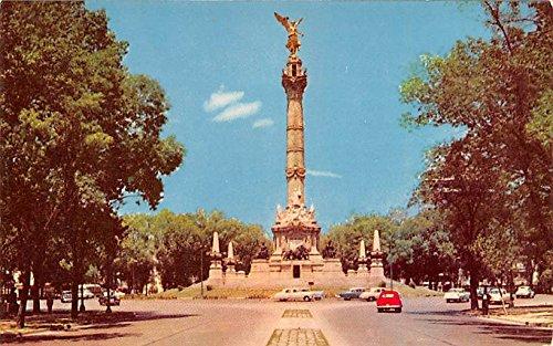 Columna De La Independencia Mexico Postcard Tarjeta Postal At