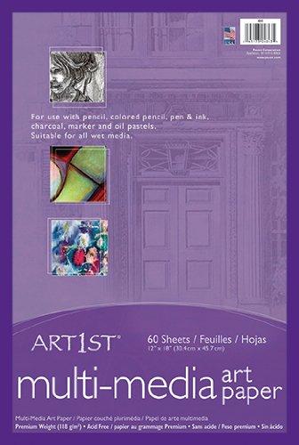 * ART1ST MULTI MEDIA ART PAPER 12X18 by MotivationUSA