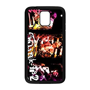 Unique Design Cases Tmzff Samsung Galaxy S5 I9600 Cell Phone Case Blink 182 Printed Cover Protector
