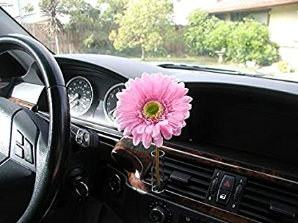 Image Unavailable & Amazon.com: AutoVase Car Vase (Pink Daisy): Home \u0026 Kitchen