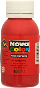 لون اكريليك من نوفا كلر NC-508، 100 مل - احمر