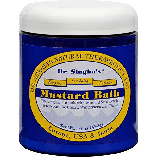 Dr. Singha's Mustard Bath Rub, 16 Ounce ()