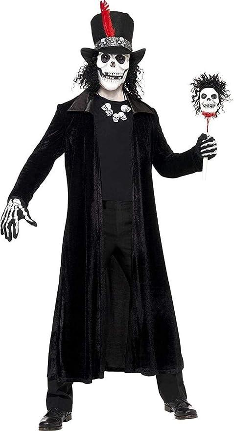 Disfraz de hombre vudú - M: Amazon.es: Juguetes y juegos