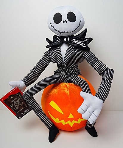 Nightmare Before Christmas Jack Skellington Halloween Greeter -