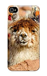 Graceyou Shock-dirt Proof Happy Lama Case Cover Design For Iphone ipod touch4 - Best Lovers