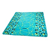 DADAO Large Picnic Blanket Waterproof Outdoor Mat,Picnic Mat for Kids-Tote Great for The Beach,Green,200x200cm