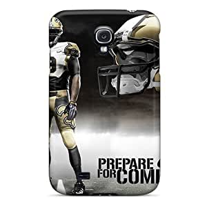 High-quality Durable Protection Cases For Galaxy S4(new Orleans Saints)
