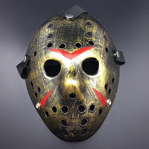 JUNGSON--Halloween Jason Voorhees Mask Friday The 13th Horror Movie Hockey Costume Prop