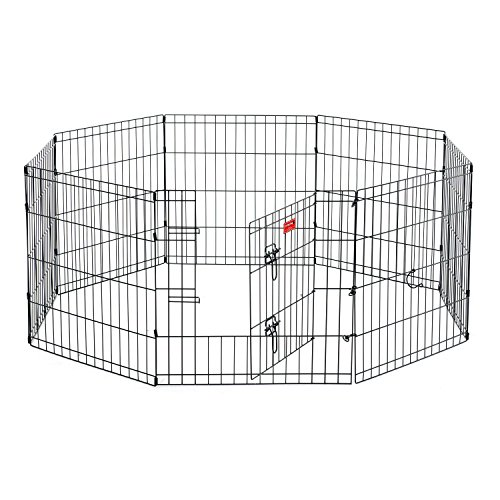 """Lucky Dog 24"""" H Dog Exercise Pen with Stakes"""