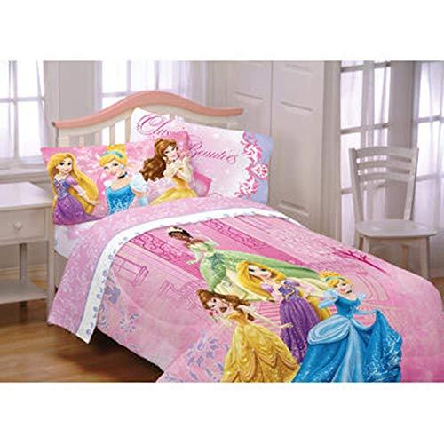 Disney Princess Twin Full Comforter Tiana Rapunzel Tangled (Disney Princess Full Comforter)