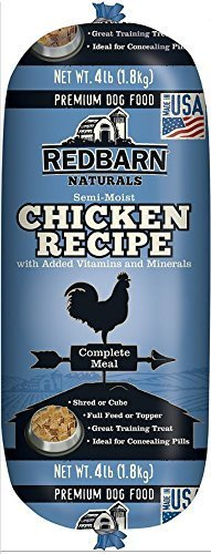 RedBarn Dog Natural Food Roll Made in USA Size:Pack of 2 Flavor:Chicken
