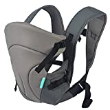 Cheap HarnnHalo 3 in 1 Baby Carriers, Back Carrier, Front Carrier, 11, Gray