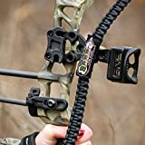 My Sling-a-ling Combo Pack Magnetic Paracord Bow and Wrist sling Black