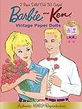 Barbie and Ken Vintage Paper Dolls (Barbie) (Paper Doll Book)