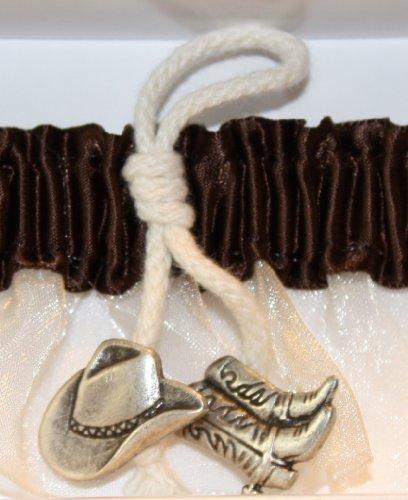 Hortense B. Hewitt Wedding Accessories Cowboy Charm, Bride's Garter